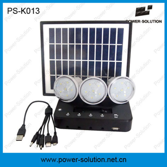 Portable And Cost Effective Led Solar Light System