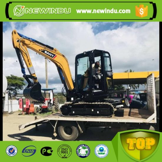 China Sany Sy35u 3 8ton Small Excavator with A/C - China Digger