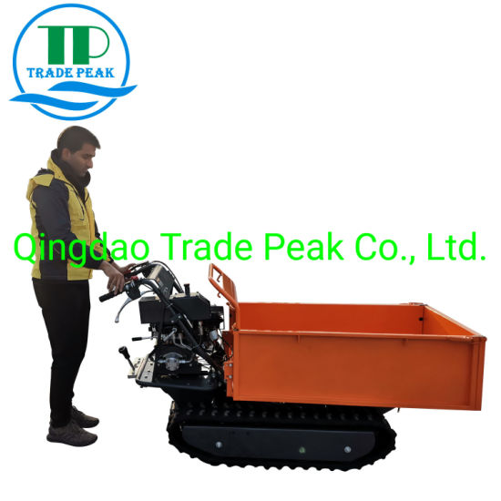 Hydraulic Popular Hot Sale Chinese Approved Tracked Mini Dumper