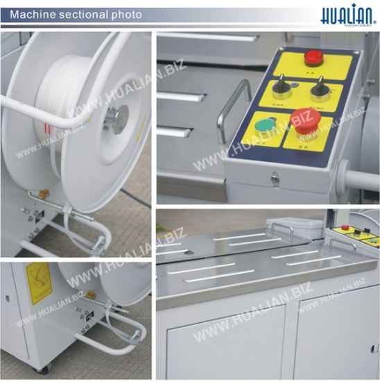 Hualian 2017 Automatic Strapping Machine (KZ-8040/C) pictures & photos