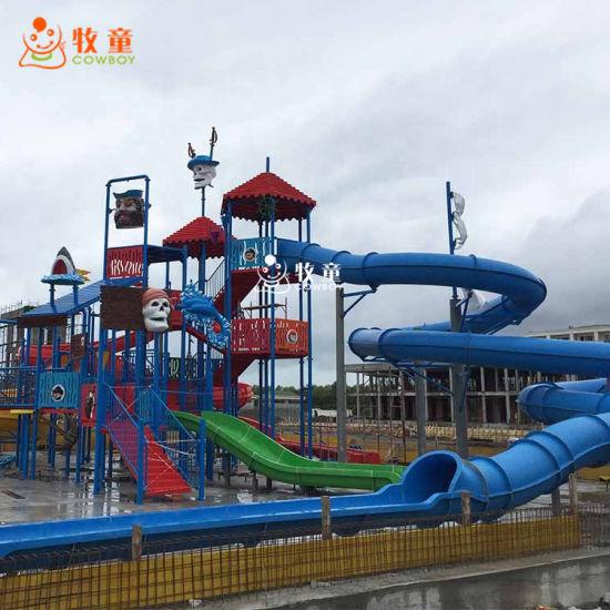Cowboy Aqua Park Equipment Water Park Slides