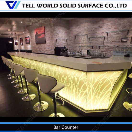 China Straw Design Solid Surface