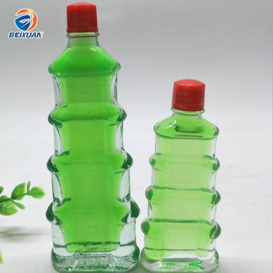 Safflower Oil Glass Bottle Essence Traditional Chinese Medicine Bottle