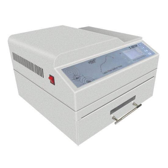 Puhui Desktop Reflow Oven T937, LED SMT Reflow Oven T-937m