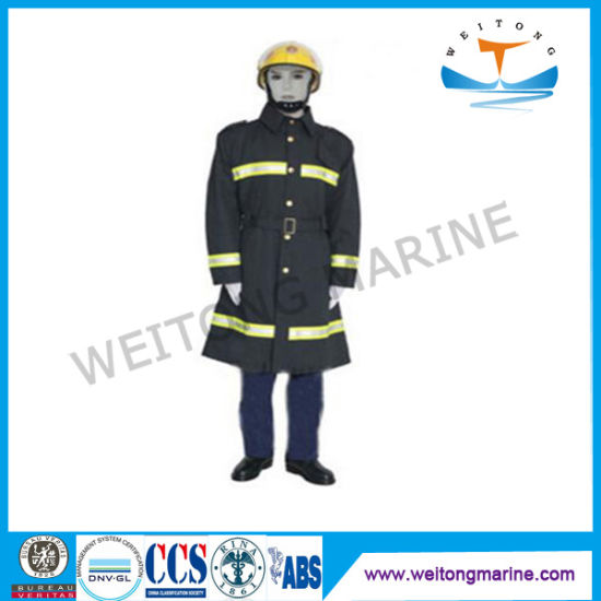 Marine Firefighting Equipment Fire Fighting Fireproof Suit