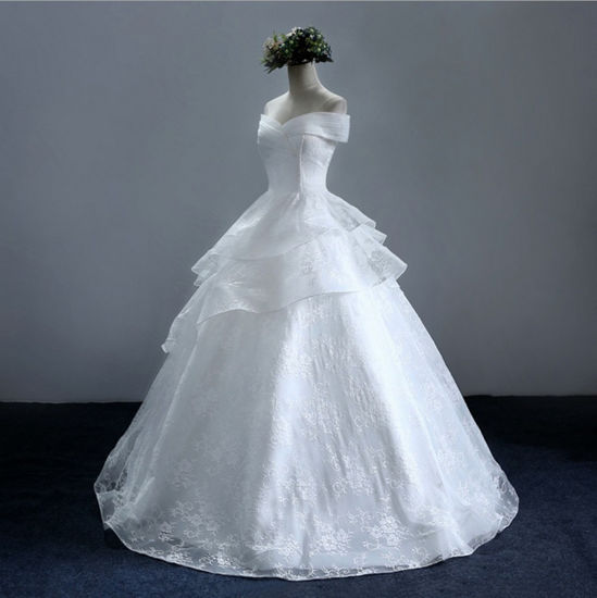 China Delicate Lace Sweetheart Mermaid Bridal Wedding Dress with ...
