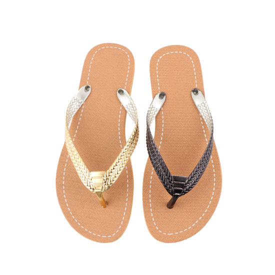 b7a41127075b China Summer Female Flat 2019 Fashion Latest Design Slippers - China ...