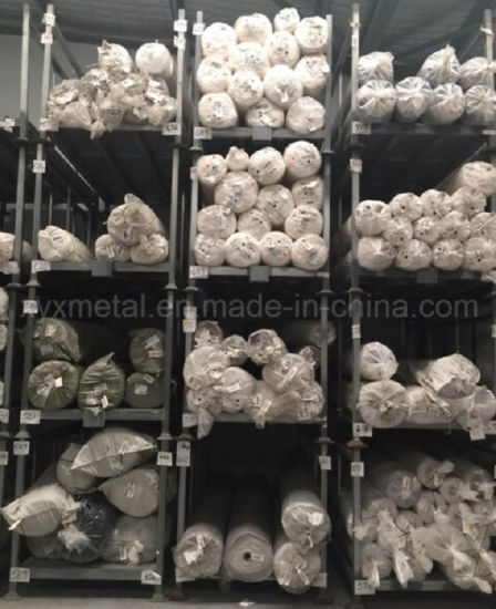 Stacking Storage Frame Textile Industrial Folding Tier Rack For Fabric Carpet Roll