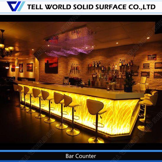 Furniture L Shaped Custom Made Bar
