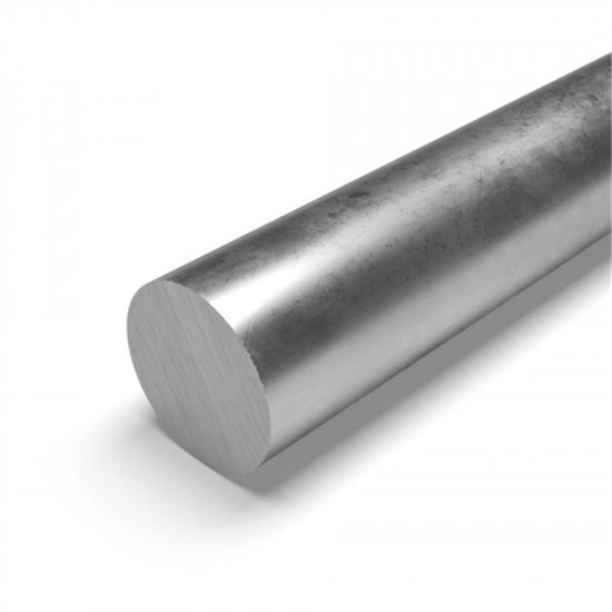 """STAINLESS STEEL SOLID ROUND 1/"""" x 12/"""" ALLOY 304"""