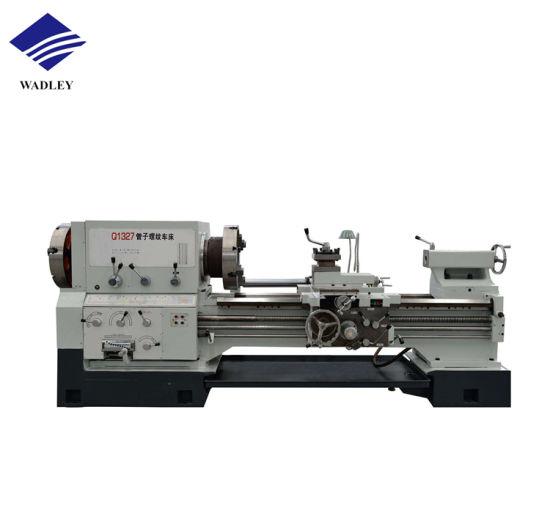 Qk1313 Qk1319 Wheel Cutting Mini Pipe Thread CNC Oil Country Lathe Machine