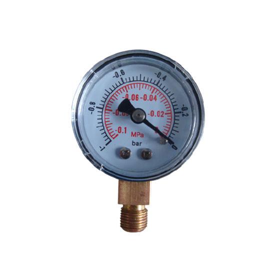 """Factory Price 63mm 2.5"""" -1~0 Bar Plastic Case Vacuum Gauge"""