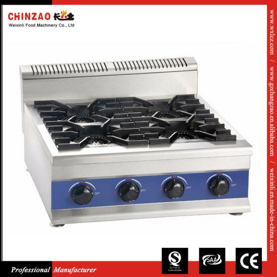 High Quality Cast Iron Wok Counter Gas Cooktop Zml-4t