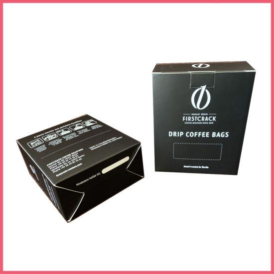 High-End 500g White Card Paper Matt Black Box
