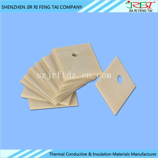 China Aluminum Nitride Heat Sink Ceramic Plate for LED