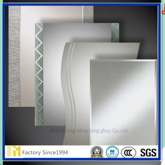 2017 China Frameless 4mm 5mm 6mm Bathroom And Home Square Mirror