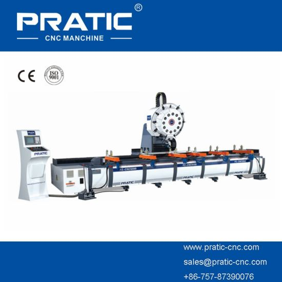 CNC Milling Machining Center in Casting Bed