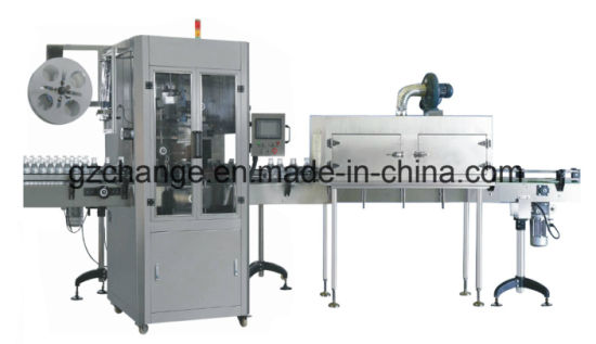High Speed Beverage Bottles Steam Shrink Labeling Machine pictures & photos