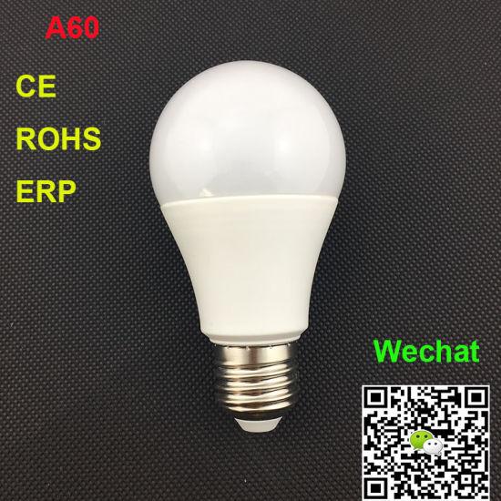 A60 5W E27 LED Lamps Ce RoHS, ERP