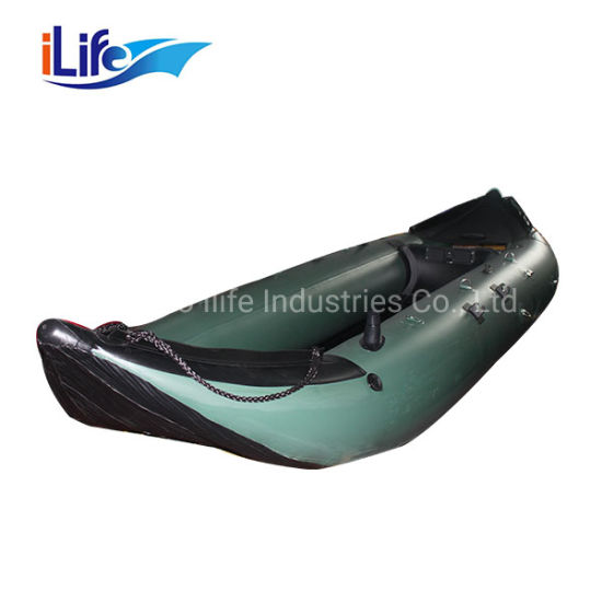 Ilife 2 Person Seat Boat Fishing Kayak PVC Superior Quality Inflatable Kayak Boat for Sale