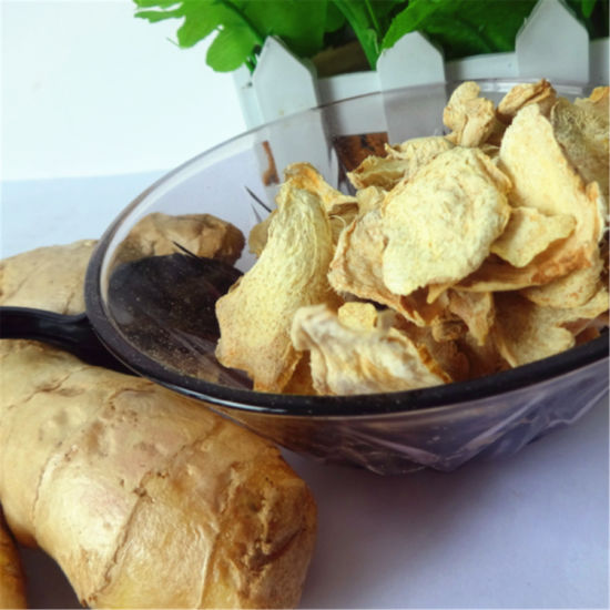 Organic Dried Dehydrated Ginger Flakes From China pictures & photos