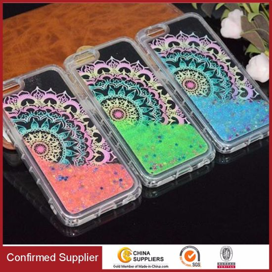 Exclusive Liquid Quicksand Drop Resistance TPU Bumper Protective Phone Case
