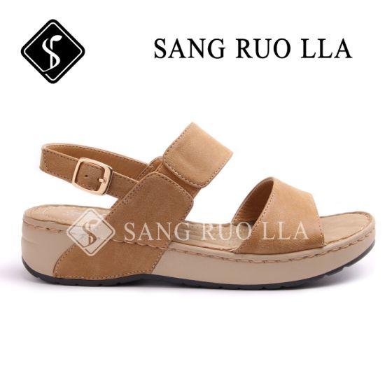 2019 Good Quality Ladies Beach Sandals, Soft Sandal Shoes, Beach Sandal Shoes for Lady, Women Sandal Shoes, Shoes Wholesales