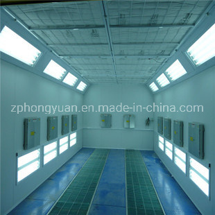 Car Spray Booth with Exhaust Fan for Sale