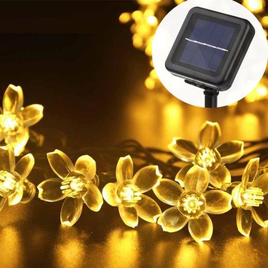 Solar String Lights Outdoor 50-200 LED Fairy Home Garden Christmas Wedding Party