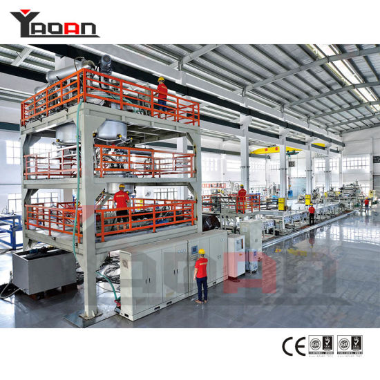 China PVA Water Soluble Casting Film Extrusion Machine Line