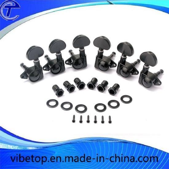 China Black Acoustic Guitar Machine Heads Guitar Keys Tuner China