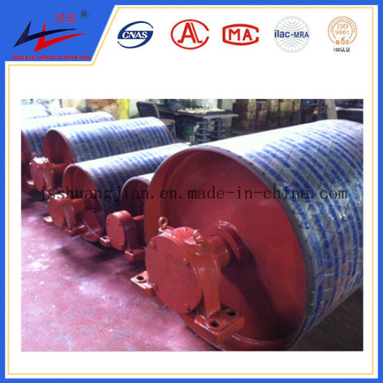 Excellent Rubber Coating PU Lagging Driving Pulley pictures & photos