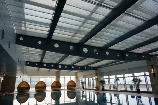 5 Stars Hotel Indoor Swimming Pool Window Roller Shutter Blinds