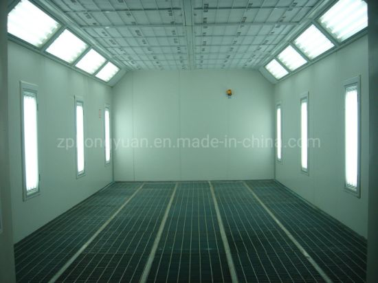 Automotive Paint Spray Booth with 2 Set Intake Fan