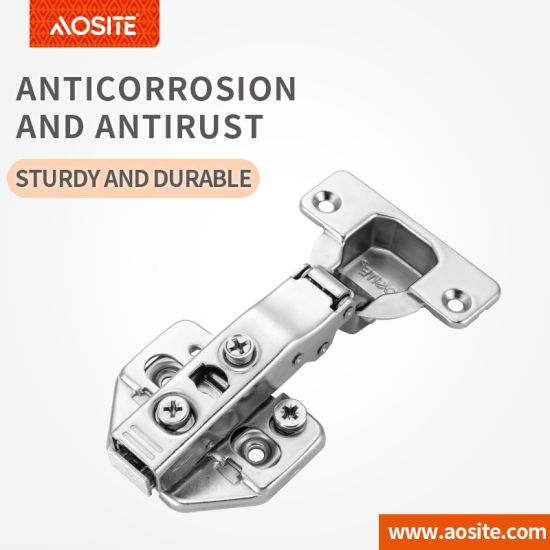 A08F Clip-on 3D adjustable hydraulic damping Cabinet Door hinge