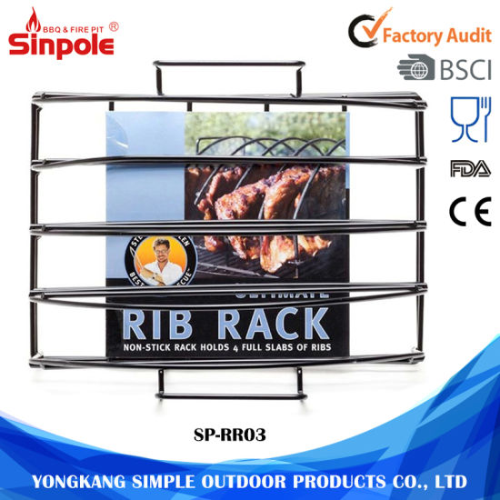 Rectangular Portable Stainless Steel Dish Roasting Wire Rack Steel pictures & photos