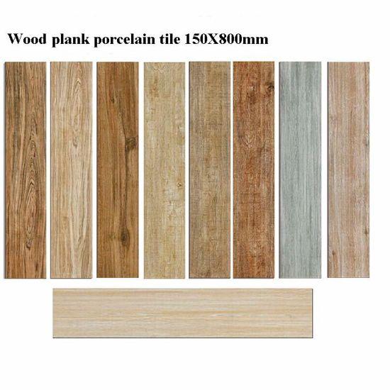 150x800mm Wood Plank Floor Tile Finish Porcelain
