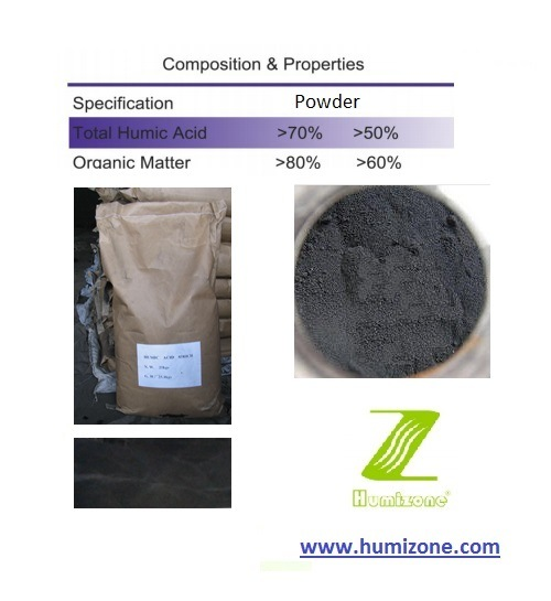 Humizone Super Humic: Potassium Humate 70% Powder (H070-P) pictures & photos