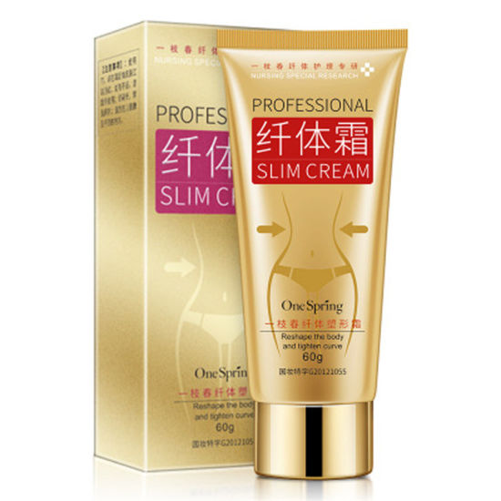 Herbal Ingredients Fast Effect Anti Cellulite Detox Slimming Cream with Body for Loss Weight