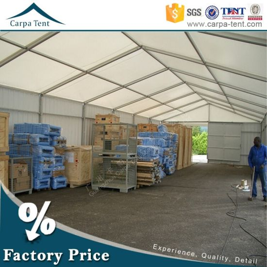 20X30m Durable Aluminium Frame Tent for Storage with Waterproof PVC pictures & photos