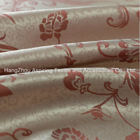 Window Curtain Fabric Polyester Jacquard for Home Use
