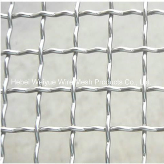 China Factory Price High Carbon Steel Crimped Woven Wire Mesh ...
