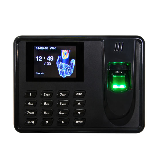 China Thumbprint Time Attendance System Biometrics Security