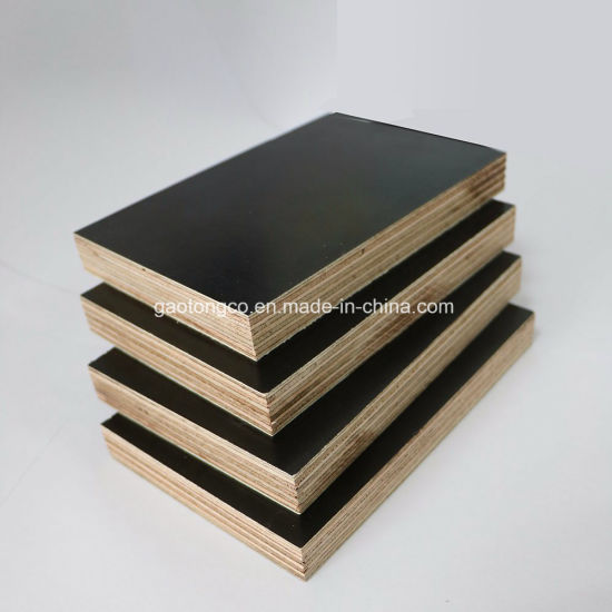 First Grade Poplar Core Construction Plywood Waterproof Film Faced Plywood Price