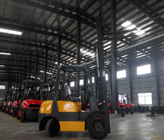 Niuli 2.5t Eletric Forklift Truck with Best Quality and Price pictures & photos
