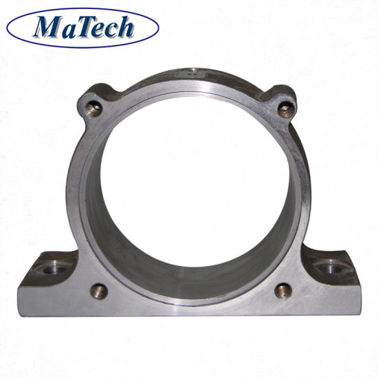 China Foundry Custom Made Precisely Steel Casting Bearing Bracket
