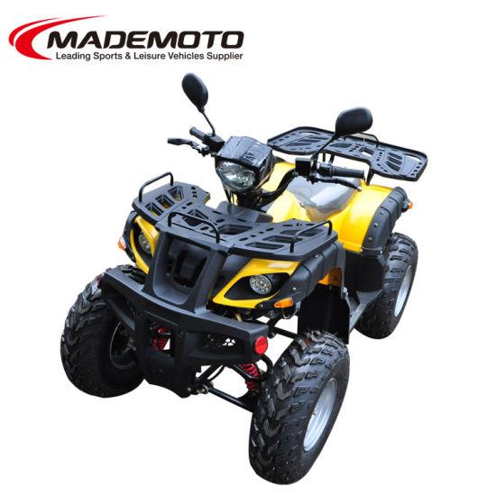 EEC 150cc 200cc Gy6 4 Wheel Chain/Shaft Drive Gas Powered Sport Quad Bike ATV