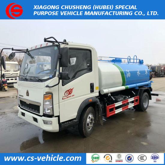 b47dd5412a 2018 Hot Sell Sinotruk HOWO 4X2 Tanker Truck 10000L Water Spray Truck Price