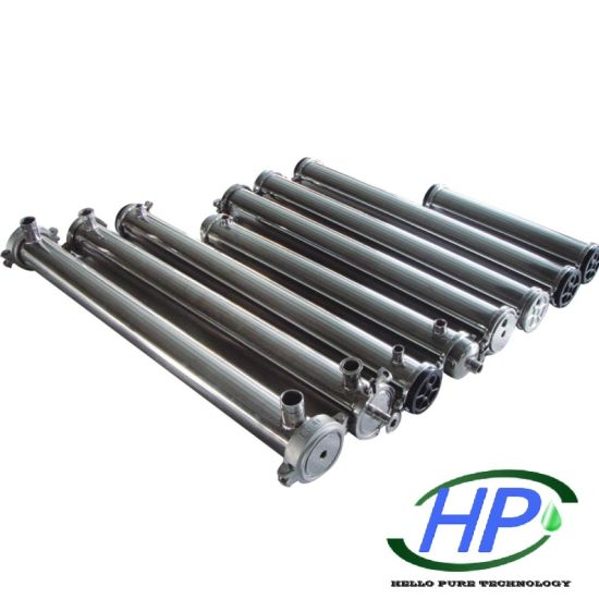 4040 Stainless Steel Membrane Vessel for Industrial RO Water Treatment