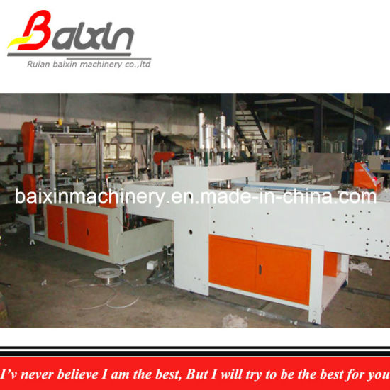 High Speed Double Lines Bag Making Machine 460PCS/Min pictures & photos